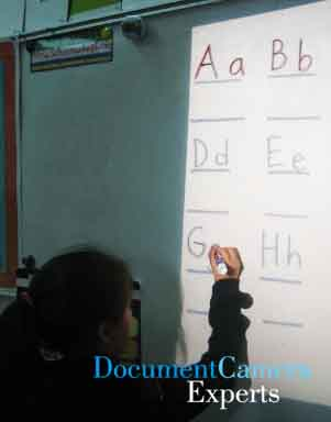 Learn to Write using a Document Camera, Visualiser, Digitial Presenter- Image 1