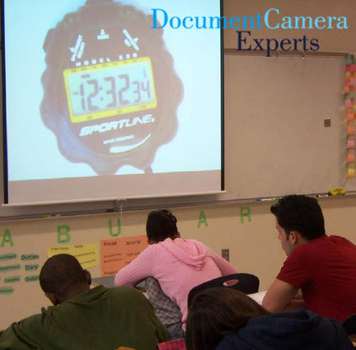 Time's Up using a Document Camera Visualiser Digital Presenter- Image 2