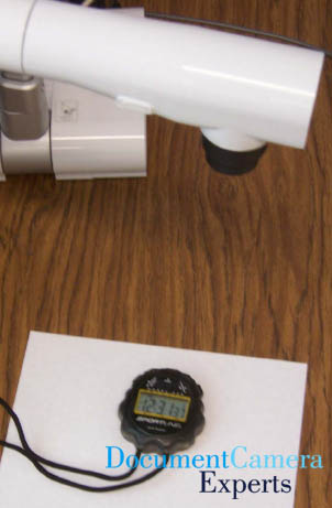 Time's Up using a Document Camera Visualiser Digital Presenter- Image 1
