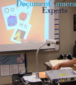Flashcard Review Using a Document Camera Visualiser Digital Presenter- Image 1