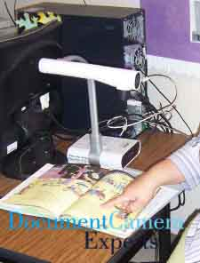 Story Time using a Document Camera, Visualiser, Digital Presenter- Image 1