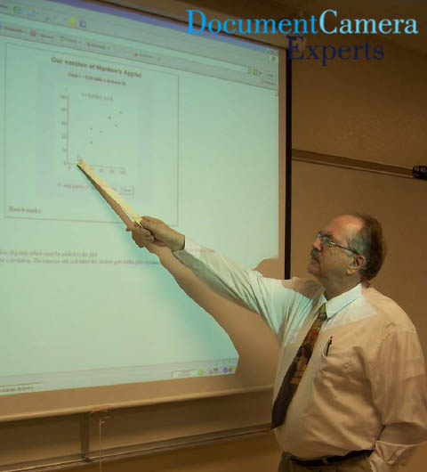 Mega Monitor using a Document Camera Visualiser Digital Presenter- Image 2