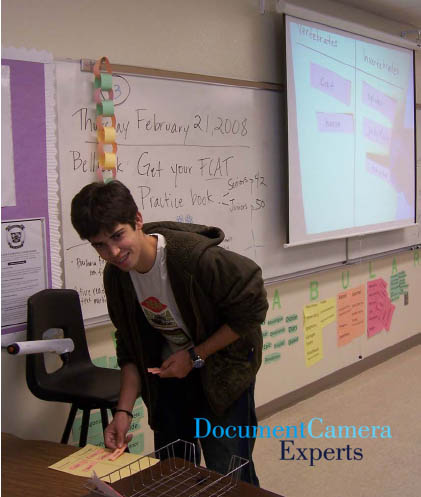 Categorizing Concepts Using a Document Camera Visualiser- Image 1